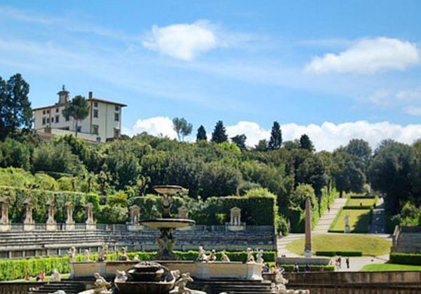 Tn Florence Boboli Gardens