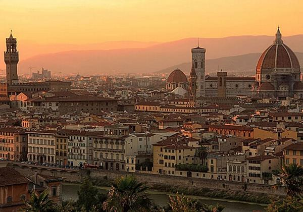 Tn Florence Italy Sunset